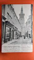 CPA. Namur.  La Rue Et L'église St Jean. (R1.762) - Zonder Classificatie