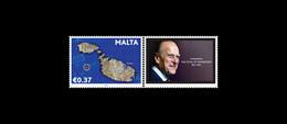 2021 Malta Se-Tenant In Memoriam HRH Duke Of Edinburgh Prince Phillip MNH VF - Malta