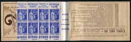 21575 FRANCE N°365(*) (246b) 65c. Type Paix : Pétrole Hahn Tenant à Byrrh (Timbres Collés Sur La Couverture) 1937-39  TB - Publicidad