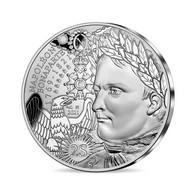 NEUVE PIECE NAPOLEON 1er 10 EUROS ARGENT 1821//2021 Ses 200 ANS  Avec Son Fascicule ***** COLLECTION ***** - France