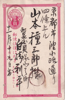 JAPON   ENTIER POSTAL/GANZSACHE/POSTAL STATIONARY CARTE - Postales