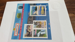 LOT543106 TIMBRE DE FRANCE CACHET PREMIER JOUR  BLOC - Volledige Vellen