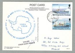 1994 BRITISH ANTARCTIC TERRITORY RARE TIMBRE À DATE DU 01.03.1994 - Brieven En Documenten