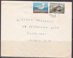Lettre De Chypre, Oiseaux (ref L A696) - Cartas