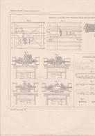 CHEMINS DE FER ,PLANS MOTEURS A FLUIDE SOUS PRESSION DE M.WESTINGHOUSE ,CABL M.LEMOINE LONGERON M.FOX  REF 71087 - Other Plans