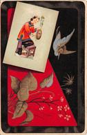 Chine - N°76170 - Femme Sur Une Chaise, Oiseau - Cina