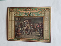 CALENDRIER  OBERTHUR    1903   LE  BAIN  DE  PIEDS  INATTENDU     DEPARTEMENT 80 - Big : 1901-20