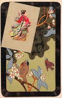Chine - N°76171 - Femme Avec Un éventail, Et Des Oiseaux - Cina
