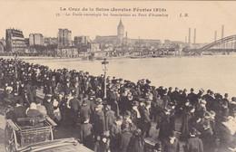 Paris - La Crue De La Seine (Janvier-Février 1910) - La Foule Contemple Les Inondations Au Pont D'Austerlitz - La Crecida Del Sena De 1910