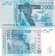 Niger - West African States 2003 - 2000 Francs - Pick 616 UNC Letter H - Niger