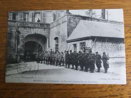 MEZIERES 91e  D'Infanterie La Porte De La Caserne Bayard - Regiments