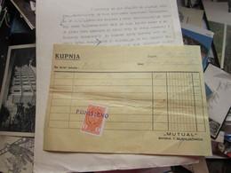 Zagreb Mutual Banka I Mjenjacnica Tax Stamps 1938 - Autres