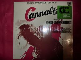 LP33 N°8808 - CANNABIS - SERGE GAINSBOURG - 6311 060 - 180 GR. REEDITION - B.O.F. - Rock