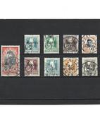 1906 LOT DE 9 Timbres INDOCHINE Oblitérés - Usati
