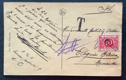 TX 10 C. BELOEIL  Op Postkaart Hainaut - Brieven