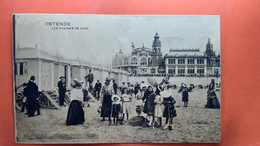 CPA. Ostende. Les Cabines De Luxe.   (R1.804) - Oostende