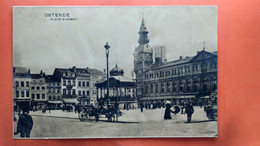 CPA. Ostende. Place D'armes.  (R1.810) - Oostende