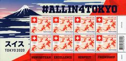 Switzerland - 2021 - Summer Olympic Games In Tokyo 2020 - Mint Miniature Stamp Sheet - Nuevos