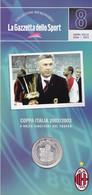 MEDAGLIA COLLEZIONI MEMORABILI GAZZETTA DELLO SPORT MILAN COPPA ITALIA 2002/03 - Unclassified