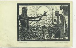 ARTS - Mort Lumiere : Science, Ténèbre : Religion, Autorité / PUB Les Temps Nouveaux Bruxelles Rue Des Eperonniers - Pintura & Cuadros