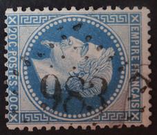 29A (cote 10 €) Obl GC 983 Chaunay (80 Vienne ) Ind 8 ; Frappe Très Nette Et Centrée - 1849-1876: Classic Period