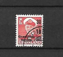 GROENLANDIA - 1959 - N. 33 USATO (CATALOGO UNIFICATO) - Ohne Zuordnung