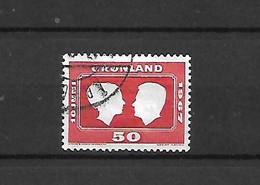 GROENLANDIA - 1967 - N. 59 USATO (CATALOGO UNIFICATO) - Gebraucht