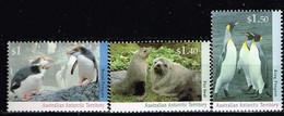 AAT / Territoire Antarctique Australien / Neufs**/MNH**/ 1993 - Faunes Antarctique - Neufs