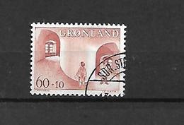 GROENLANDIA - 1968/69 - N. 60 - N. 61 USATI (CATALOGO UNIFICATO) - Gebraucht
