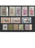 1881 LOT De 13 Timbres De Martinique Oblitérés - Usati
