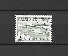 GROENLANDIA - 1975 - N. 80 - N. 81 - N. 82 - N. 83 USATI (CATALOGO UNIFICATO) - Gebraucht