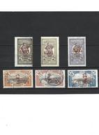 1879 LOT De 6 Timbres De Martinique Oblitérés - Usati