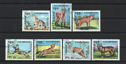 Kampuchea 1984 Wild Dogs Y.T. 470/476  (0) - Kampuchea