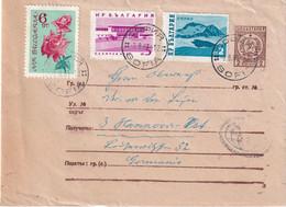 BULGARIE 1963   ENTIER POSTAL/GANZSACHE/POSTAL STATIONARY LETTRE DE SOFIA - Sobres