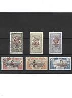 1880 LOT De 6 Timbres De Martinique Oblitérés - Usati