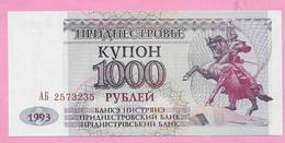 1000 RUBLEI 1993 UNC Transnistrie - Ukraine