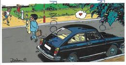 Volkswagen Type 3. 50ème Anniversaire De VW Belgique. Signée Jidéhem Zoë, Pipette, P'tit Bernard Et Coccinelle Amoureuse - Turismo
