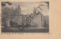 Postkaart-Carte Postale Saint Ghislain - Château De Boussu  (C701) - Saint-Ghislain