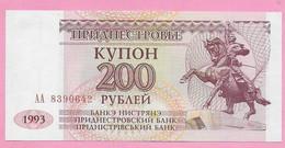 200 RUBLEI 1993 UNC Transnistrie - Ukraine