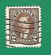 1937 N° 191 GEORGE VI 2 C.  OBLITÉRÉ - Usados