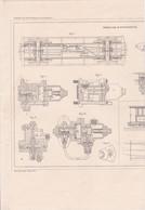 CHEMIN DE FER PLAN FREINS M.WESTINGHOUSE,MONTAGE ESSIEU M.UHRY  REF 71091 - Other Plans