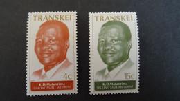 1979 Yv 52-53 MNH B46 - Transkei