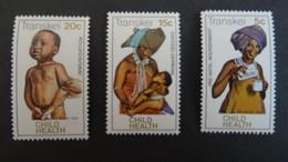 1979 Yv 62-64 MNH B46 - Transkei