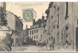 RENNES  Vieilles Maisons De La Rue Saint Louis - Rennes