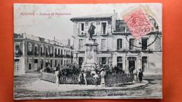 CPA. Alicante. Estatua De Maisonnave.     ( R1.857) - Alicante