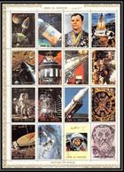 0131b/ Umm Al Qiwain ** MNH Michel N° 1066/1081 A Espace (space Flights) Gagarine Gagrin 1972 - Umm Al-Qiwain