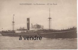 Le Roubaisien-  Cie Du Nord, Dunkerque - Cargos