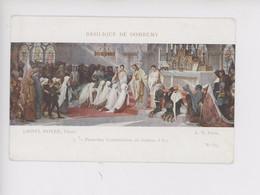 Domremy : Lionel Royer Peintre 1852-1926, Première Communion De Jeanne D'Arc Basilique De Domrémy (cp Vierge N°519) - Domremy La Pucelle