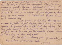 Lettre Envoyée D'Allemagne En France ( à VAUX  Allier )1944 - 1900 – 1949
