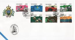 "1997 - FDC SAN MARINO "" AVVENIMENTI SPORTIVI "" VEDI++++ - FDC"